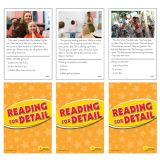 Reading for Detail Practice Cards, Reading Levels 1.0-2.0