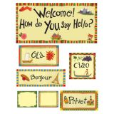 Multicultural Welcome Bulletin Board Set