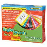 Sight Words in a Flash™, Set 1: Beginning