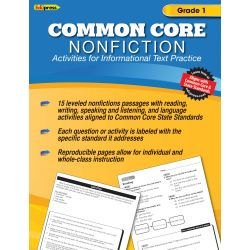 Common Core Nonfiction, Grade 1