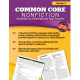 Common Core Nonfiction Activity Book, Grade 4