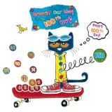 Pete the Cat® 100 Groovy Days of School Bulletin Board Set