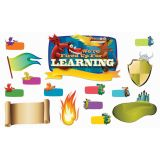 We're Fired Up for Learning Bulletin Board Set