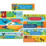 Pete the Cat® Reading Strategies for K-1 Mini Bulletin Board