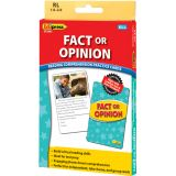 Fact or Opinion Practice Cards, Reading Levels 1.0-2.0