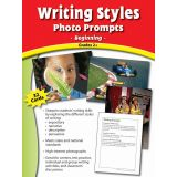 Writing Styles Photo Prompts, Grades 4+ mid level writing prompts