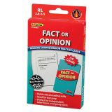 Fact or Opinion Practice Cards, Reading Levels 2.0-3.5
