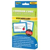 Common Core Task Cards, Vocabulary, Grade 1