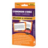 Common Core Task Cards, Speaking & Listening, Grade 2