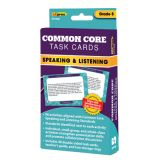 Common Core Task Cards, Speaking & Listening, Grade 5