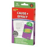 Cause & Effect Practice Cards, Reading Levels 5.0-6.5