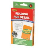 Reading for Detail Practice Cards, Reading Levels 5.0-6.5