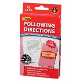Following Directions Practice Cards, Reading Levels 3.5-5.0