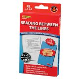 Reading Between the Lines Practice Cards, Reading Levels 3.5-5.0