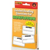 Guided Reading Question Cards, Nonfiction