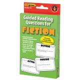 Guided Reading Question Cards, Fiction