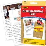 Informational Text Reading Comprehension Practice Cards, Reading Levels 1.0-2.0