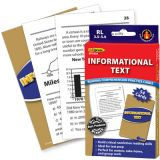 Informational Text Reading Comprehension Practice Cards, Reading Levels 3.5-5.0