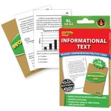 Informational Text Reading Comprehension Practice Cards, Reading Levels 5.0-6.5