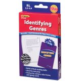 Identifying Genres Practice Cards, Green Level 5.0-6.5