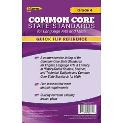 Quick Flip Reference for Common Core Standards, Grade 2