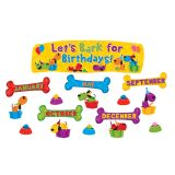 Let's Bark for Birthdays Mini Bulletin Board Set