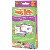 Language Arts Tasty Task Cards, Short & Long Vowels/Word Families