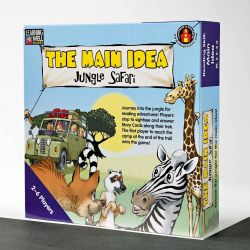 The Main Idea®Jungle Safari, Red Level 2.0 - 3.5