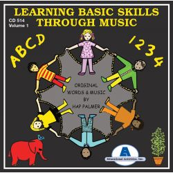 Learning Basic Skills Through Music, CD, Vol. 1