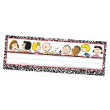 Peanuts® Classic Characters Self-Adhesive Name Plates
