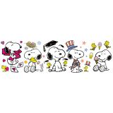 Spring/Summer Snoopy Pose Bulletin Board Set