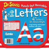 Dr. Seuss® Punch Out Deco Letters, Stripe