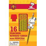 Snoopy Way to Go Pencils with Toppers