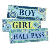 Blue Harmony Hall Passes