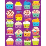 Cupcakes Scented Stickers