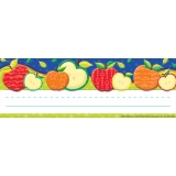 Color My World Self-Adhesive Apple Name Plates