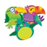 You Can Toucan Birds Assorted Paper Cut-Outs
