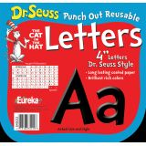 Dr. Seuss™ Punch Out Deco Letters, Black