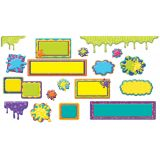 Color My World Frames, Drips & Splashes Mini Bulletin Board Set