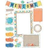 Confetti Splash Welcome Bulletin Board Set