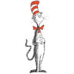 Giant Cat in the Hat® Bulletin Board Set