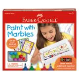 Do Art Paint with Marbles