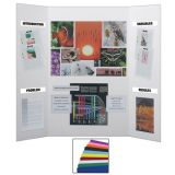 Assorted Colors Project Boards, Carton of 24, 9 colors