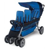 LX3™ Three Child Stroller, Regatta
