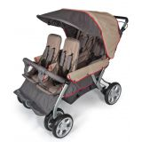 LX4® Four Child Stroller, Earth Scape