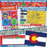State Decorative Set, Colorado