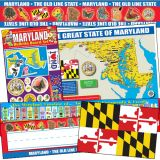 State Decorative Set, Maryland
