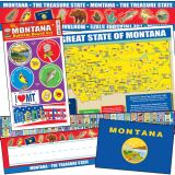 State Decorative Set, Montana