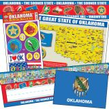 State Decorative Set, Oklahoma