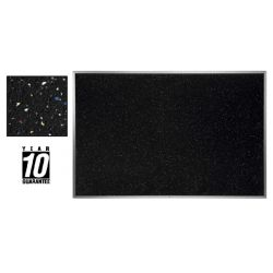 Recycled Rubber Tack Board, 36 x 46 1/2